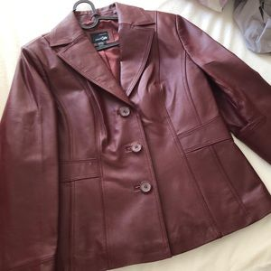 Off 5th Genuine Leather peacoat